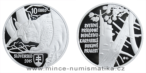 10 € - Svetové dedičstvo UNESCO Karpatské bukové pralesy