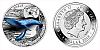 2015 - 1 $ Niue - Plejtvák Obrovský (Blue Whale)