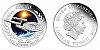 2015 - 1 $ Tuvalu - Star Trek - U.S.S. Enterprise NCC-1701