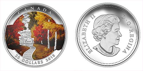 2015 - 20 $ Kanada - Autumn Express Ag