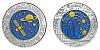 2015 - 25 € Rakousko - Kosmologie (bimetalová mince)