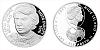 Stříbrná mince 2 NZD Karol Dobiaš