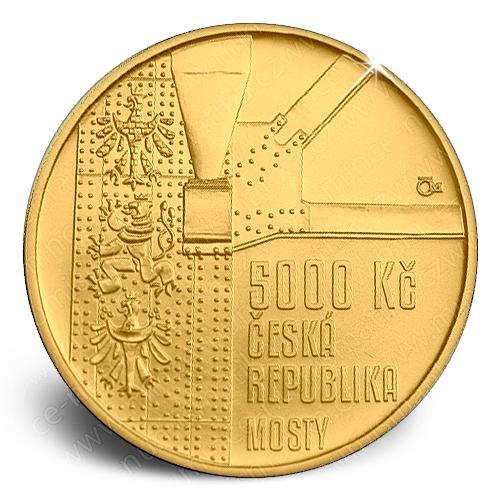 2015_5000Kc_Zdakovsky_obloukovy_most_mince_avers