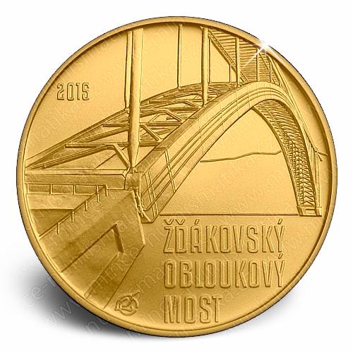 2015_5000Kc_Zdakovsky_obloukovy_most_mince_revers