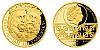 Zlatá dvouuncová mince 100 NZD Karel IV. a Jan Lucemburský