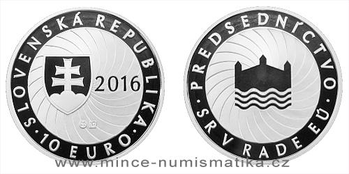 10 € - predsednictvi Slovenskej republiky v Rade Európskej únie