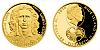 Zlatá čtvrtuncová mince 10 NZD Karel Poborský