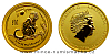 2016 - 15 dollars Austrálie - Year of the Monkey Au 1/10 Oz