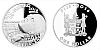 Stříbrná mince 1 FJD Arnošt Petráček