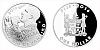 Stříbrná mince 1 FJD Lukáš Krpálek