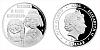 Stříbrná mince 1 NZD Mánička a paní Kateřina