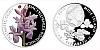 Stříbrná mince 1 NZD Prstnatec český