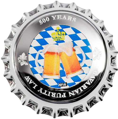 2016_1_dollar_Palau_500_year_Bavarian_purity_law_Ag_2