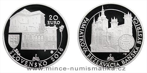 20 € - Pamiatková rezervácia Banská Bystrica