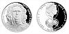 Stříbrná mince 2 NZD Karel Poborský