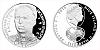 Stříbrná mince 2 NZD Miroslav Kadlec
