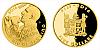 Zlatá čtvrtuncová mince 5 FJD Lukáš Krpálek