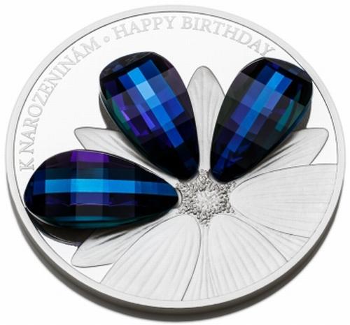2016_5_NZD_Crystal_coin_Ag_K_narozeninam_detail_1