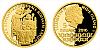 Zlatá mince 5 NZD Karel IV. a úspěchy - Korunovace římským králem
