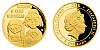 Zlatá mince 5 NZD Mánička a paní Kateřina