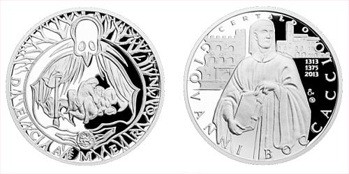 Stříbrná medaile Dekameron den sedmý - O duchovi