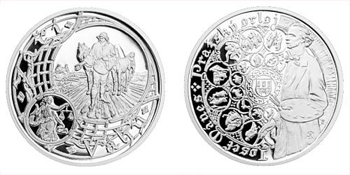 Stříbrná medaile Staroměstský orloj - Váhy