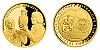 Zlatá půluncová medaile 40. výročí ME v Bělehradě
