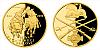 Zlatá půluncová medaile Bitva u Hradce Králové