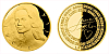 Zlatá uncová medaile Lucie Bílá, číslováno