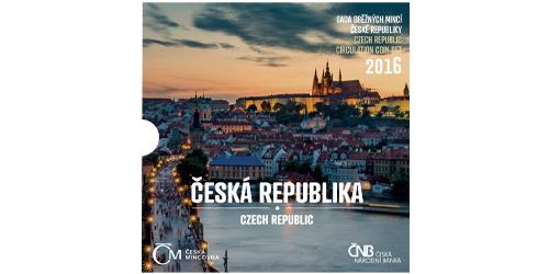 Sada oběžných mincí ČR 2016 - Česká republika
