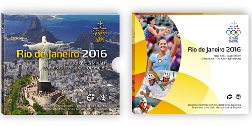Sada oběžných mincí SR 2016 - Hry XXXI. olympiády Rio de Janeiro 2016