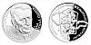 Stříbrná medaile Českoslovenští prezidenti - Antonín Novotný