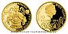 Zlatá čtvrtuncová mince Arnošt z Pardubic - první česká korunovace českého krále