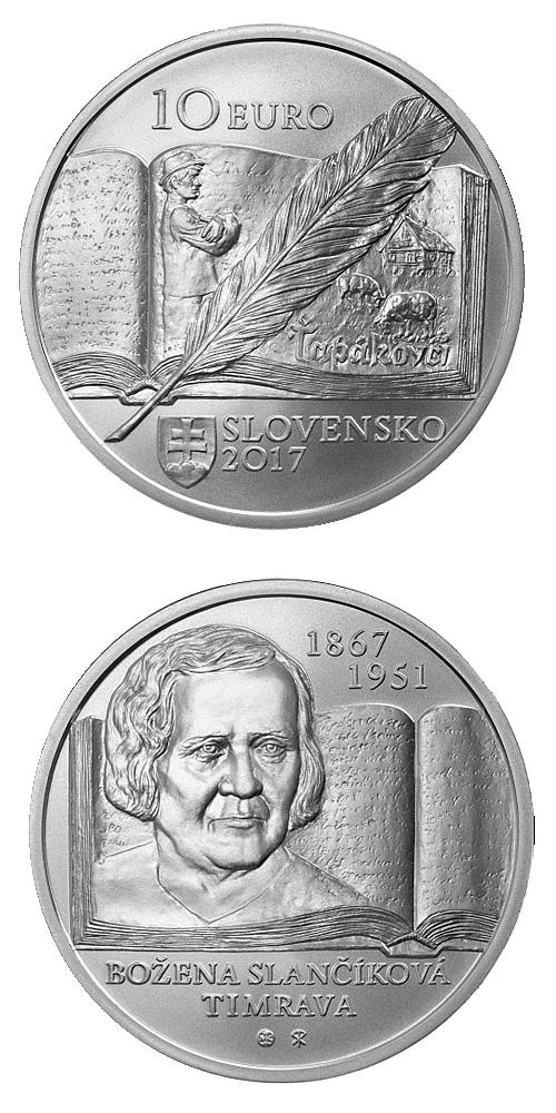 2017_10_euro_Bozena_Slancikova_Ag_mince_bezna
