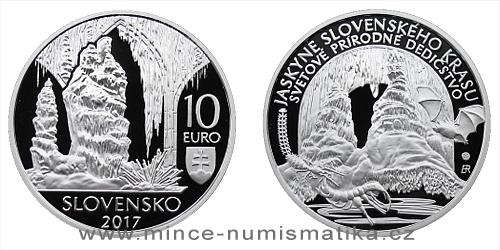 10 € - Svetové prírodné dedičstvo – Jaskyne Slovenského krasu