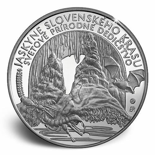2017_10_euro_Jeskyne_Slovenskeho_krasu_revers