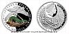 Stříbrná mince Ohrožená příroda - Ještěrka zelená