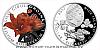 Stříbrná mince Ohrožená příroda - Lilie cibulkonosná