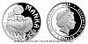 Stříbrná mince Manka
