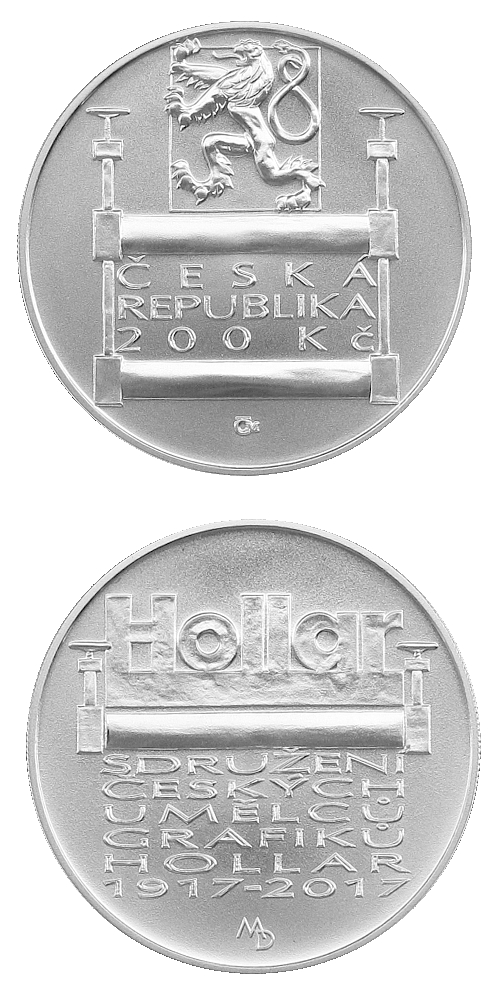 2017_200_Kc_Sdruzeni_ceskych_umelcu_Hollar_Ag_mince_bk