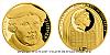 Zlatá půluncová mince Martin Luther - 500. výročí reformace