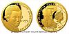 Zlatá půluncová mince Wolfgang Amadeus Mozart