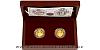 Sada dvou zlatých mincí Relikviář svatého Maura