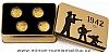 Sada čtyř zlatých mincí Válečný rok 1942