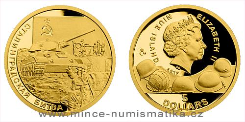 Zlatá mince Válečný rok 1942 - Bitva u Stalingradu