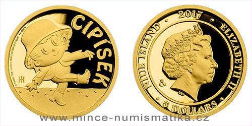 Zlatá mince Cipísek