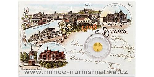 Zlatá mince Brno - Stará radnice