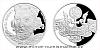 Stříbrná medaile s motivem 20 Kč bankovky - Přemysl Otakar I.