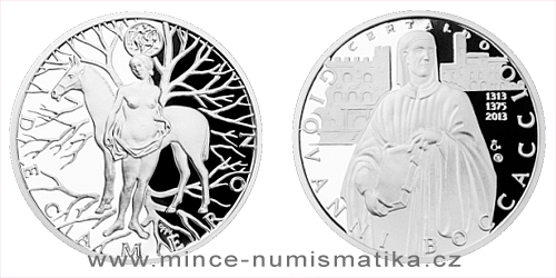 Stříbrná medaile Dekameron den devátý - Kouzlo