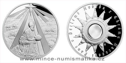 Stříbrná medaile Kašpar